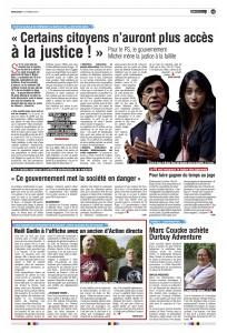 Article de Sudpresse du 10 février 2016